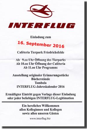 interflug.biz - die beste interflug-insider seite, Einladung